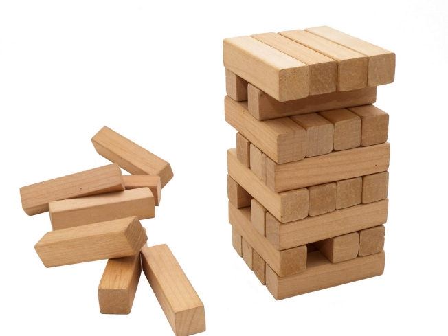Drunken Jenga: So It's Come to This