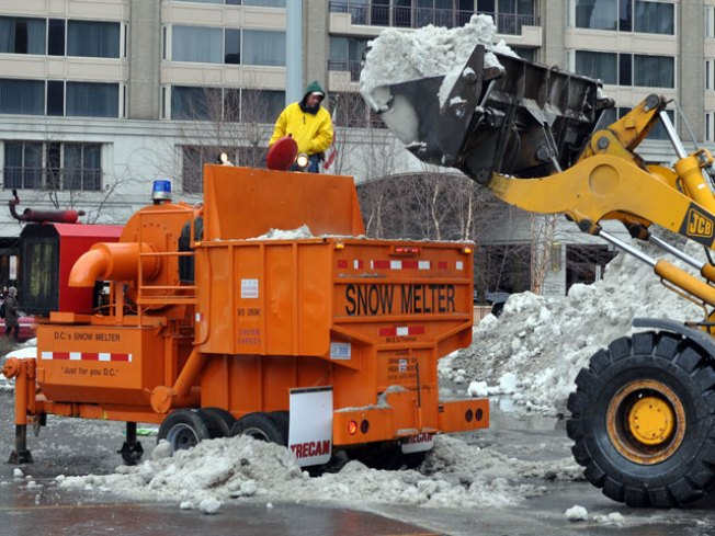 D.C. Snow Melter Spotted