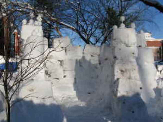 Affordable Housing: Snow Fort on the Hill