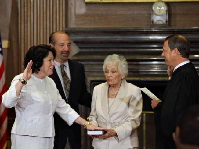 Sotomayor Sworn In as Supreme Court Justice