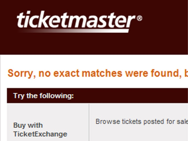 Black Cat Dumps Ticketmaster