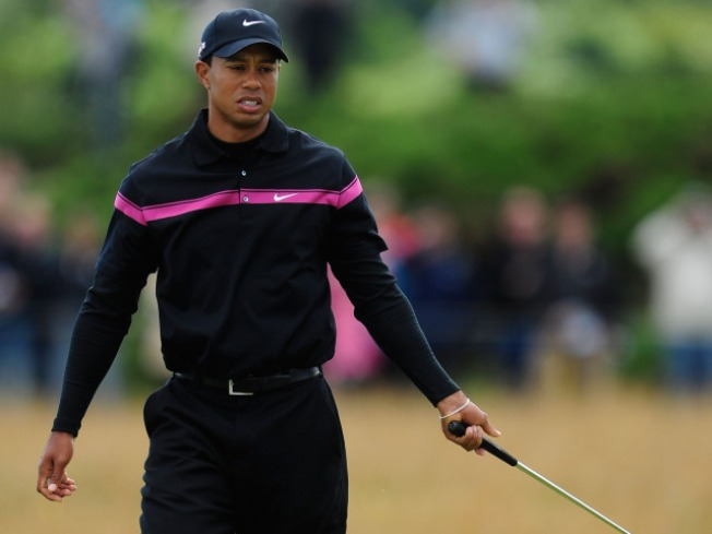 Open Mic Catches Tiger's Tirade at British Open