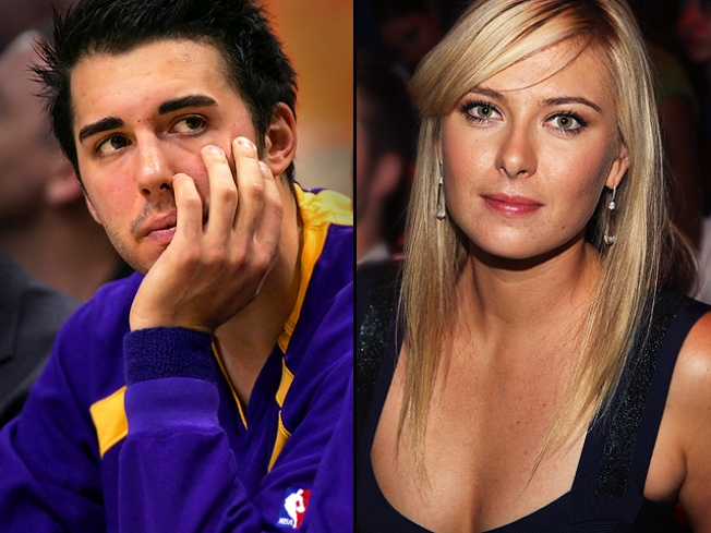 Maria Sharapova to Wed Lakers Star