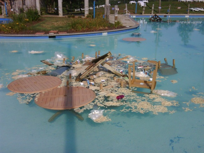After $25K Damage, Local Pool Struck by Vandals Again