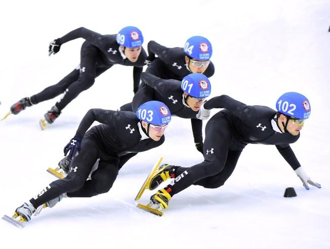 Olympic Speed Skater John-Henry Krueger Grew Up Training in DC