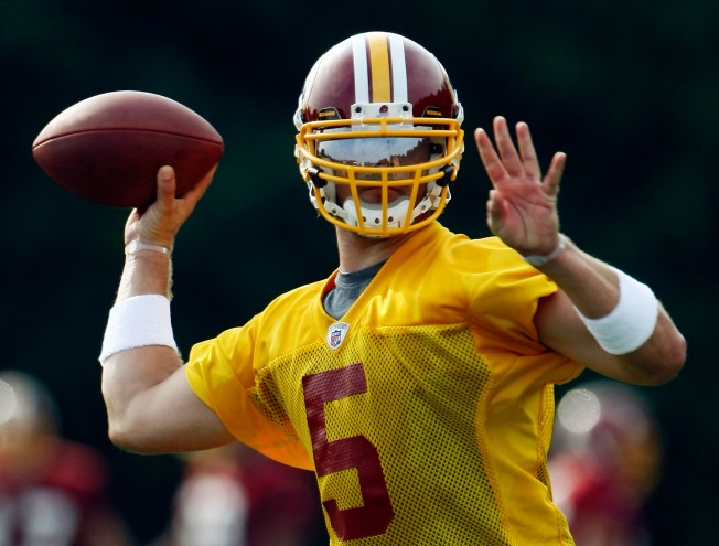 Colt Brennan's Roster Spot Still in Danger After 'Mixed Bag' Performance