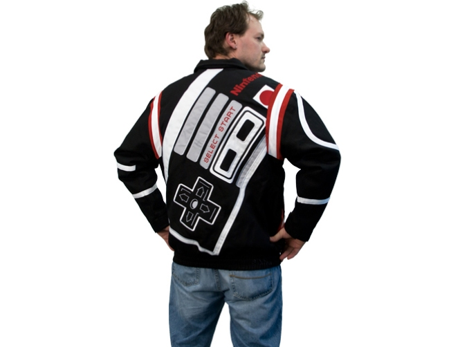 Look Cool With a Nintendo Varsity Jacket
