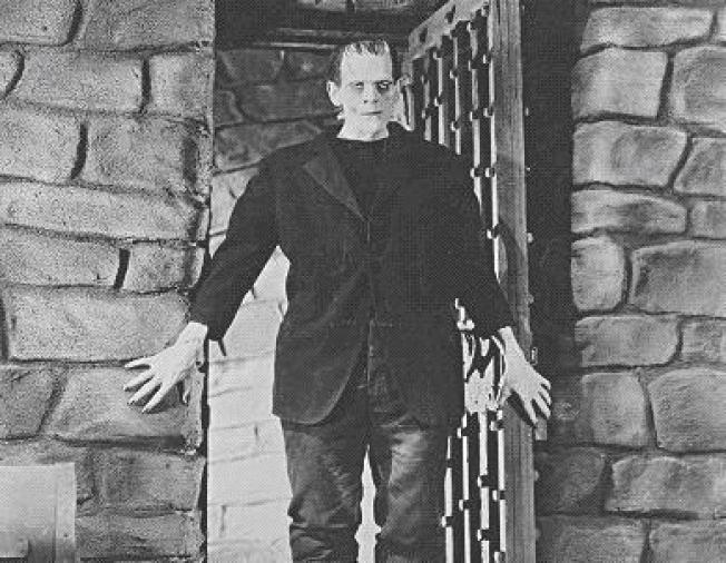 frankenstein irony The monster in the novel is described as having monstrous physical features, black lips, ghastly grin, yellow eyes etc.