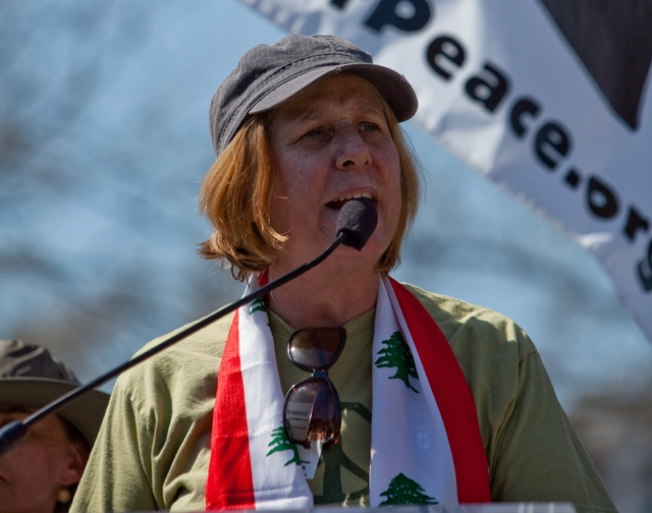 Cindy Sheehan Cleared of D.C. Protest Charge