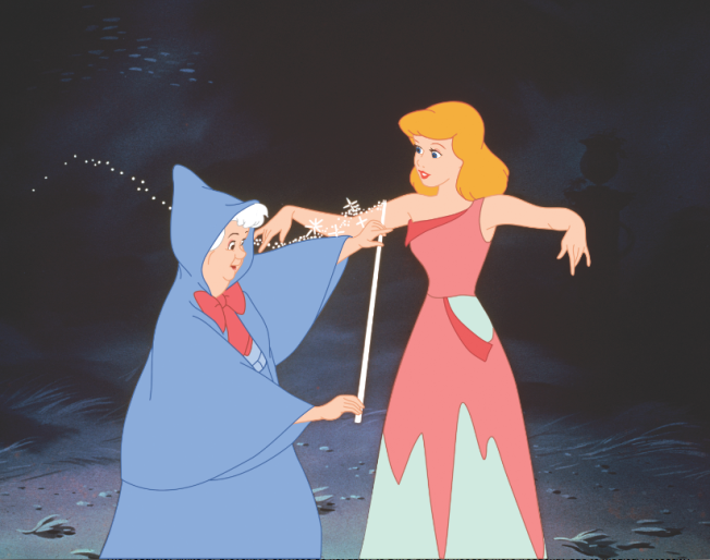 "The Real-Life Romance That Inspired ""Cinderella's"" Fairy Godmother"
