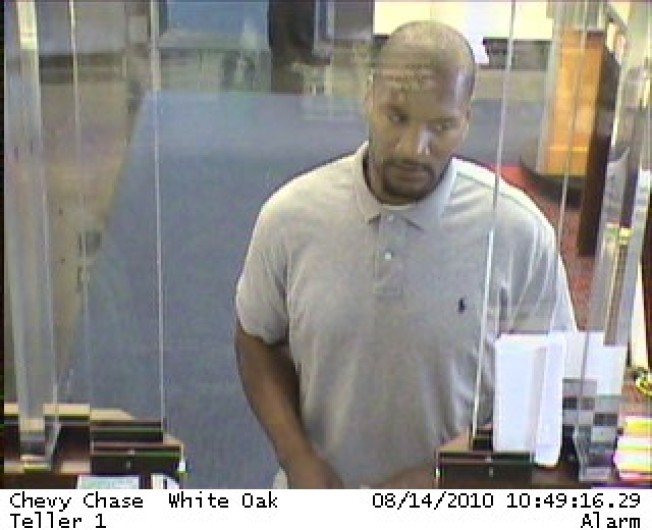 Bank Robbery at White Oak Shopping Center
