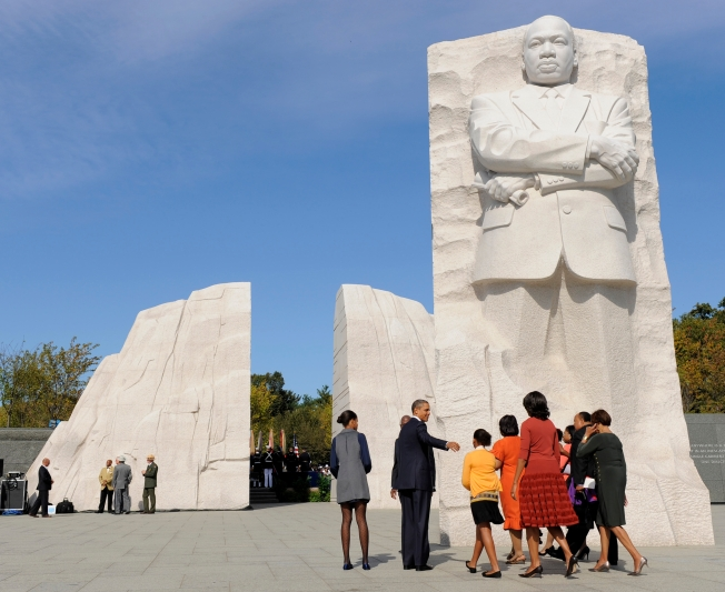 Thousands Come to MLK Memorial Dedication