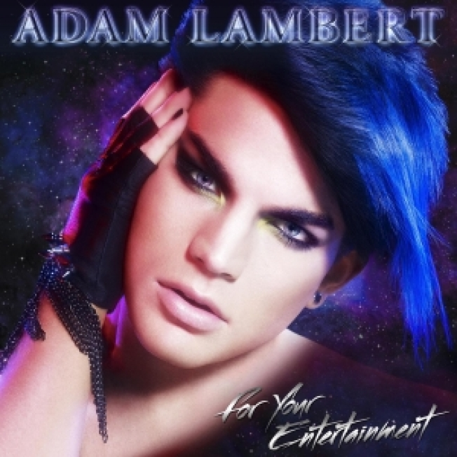 Adam Lambert Reveals Glam Album Cover