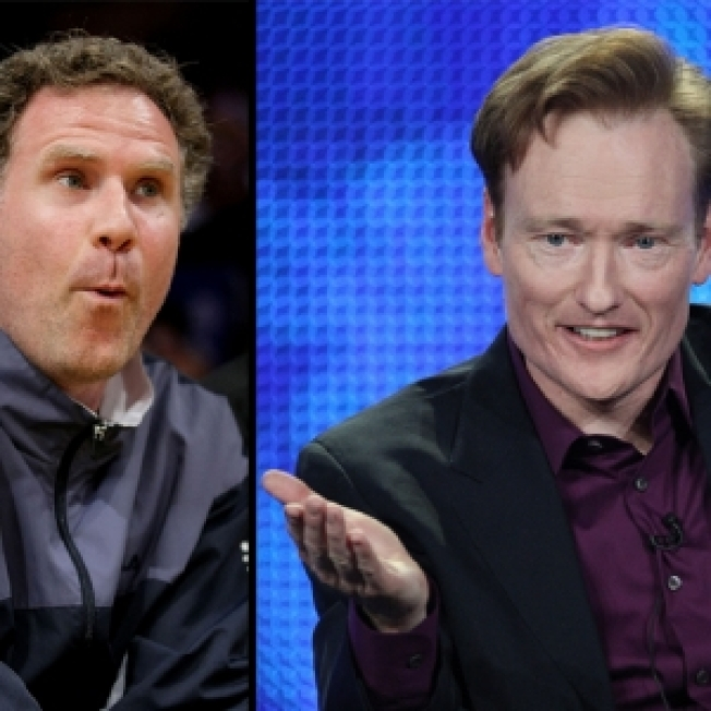 conan o brien lines up will ferrell as first tonight show guest