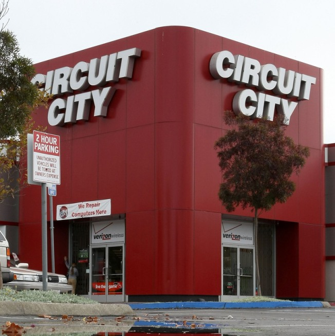 6 Circuit City Stores in Maryland, Virginia to Close