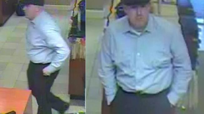 Man Wanted in Fauquier Bank Robbery