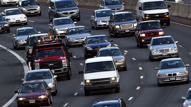 Shoulder Lane Project to Ease Traffic on I-495 in McLean