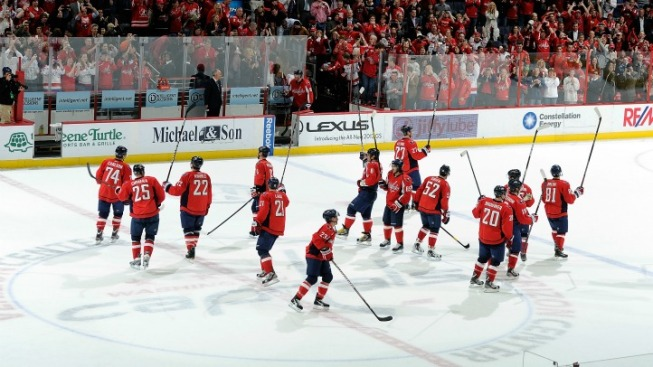 Capitals Begin Playoff Series Thursday