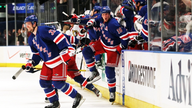 Rangers Knock Off Senators to Advance to Stanley Cup Semi-Finals