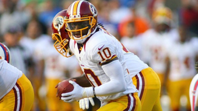 Impressive RGIII Has Been Helped by Running Game