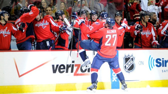 Capitals Take Game 1 Over Rangers 3-1