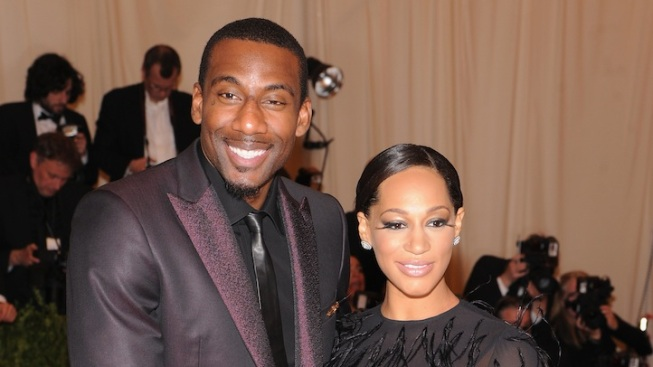 NBA Star Amar'e Stoudamire Gets Married in Miami