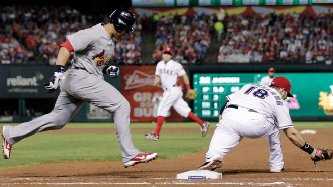 Rangers Win Game 4, Tie Up World Series