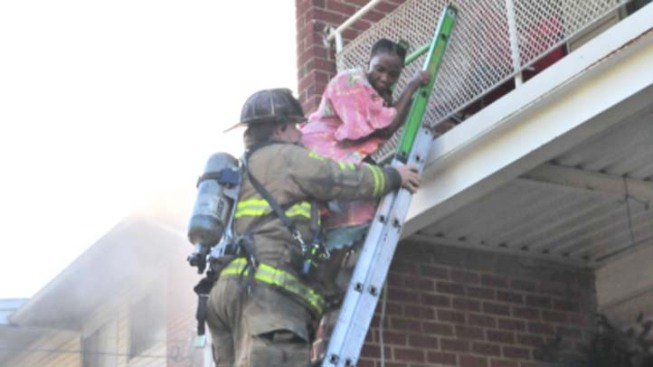 Rescuers Save Baby, Women From New Carrollton Fire