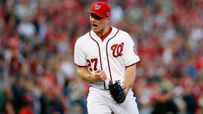 Nationals' Pitcher Zimmermann Scratched for Flu-Like Symptoms