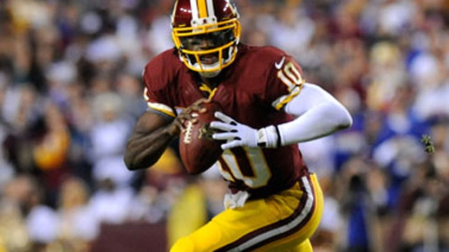 RGIII Practices, Shanny Surprised by Cousins Trade Talk