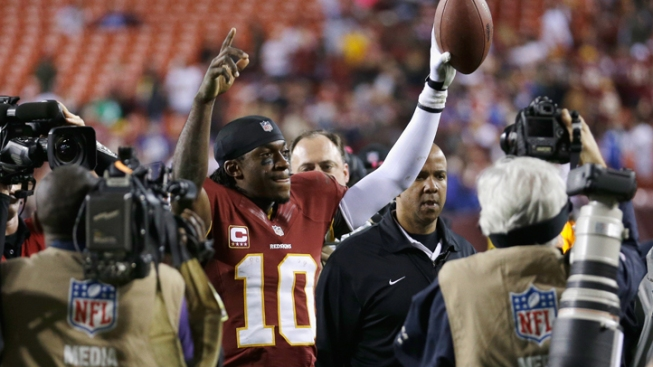 """RGII"" Says RGIII 'Plans to Start'"