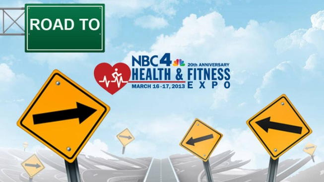 Road to the 2013 NBC4 Health and Fitness Expo