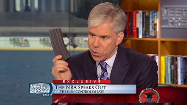 """Meet the Press"" Host Won't Be Charged for Showing Gun Magazine"