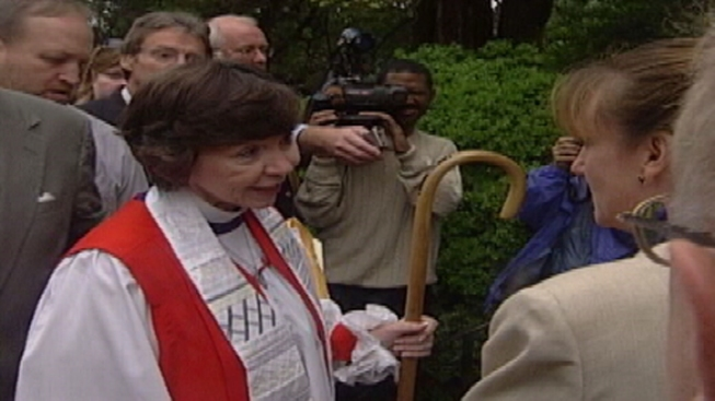 Jane Holmes Dixon, Laurel Priest and Washington Bishop, Dies at 75