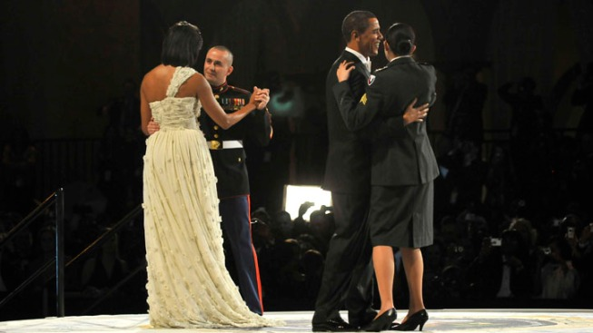 Four Military Members Honored with First Dance at Commander-in-Chief's Ball