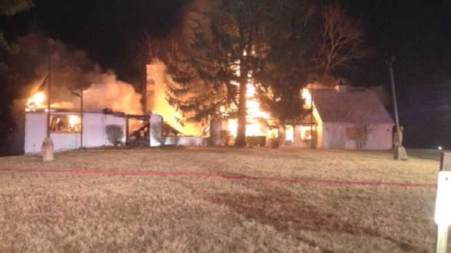 Vacant Structure Blazes in Rockville