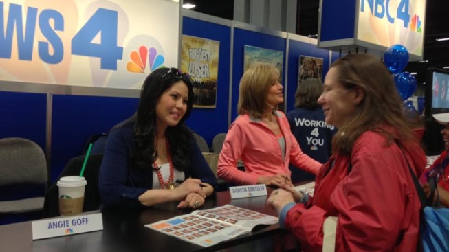 NBC Weekend Today and NBC4 Anchors at the 2013 NBC4 Health and Fitness Expo
