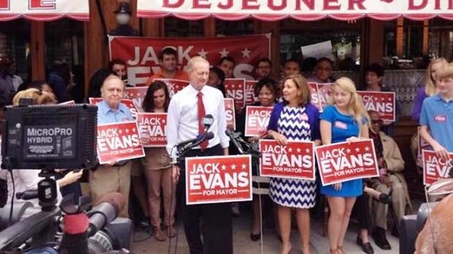 Evans Tops $1 Million in Fundraising for D.C. Mayor