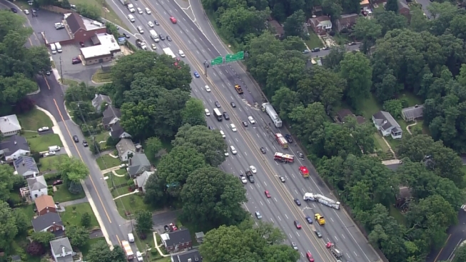 Beltway's Inner Loop Reopened in Montgomery County After Crash