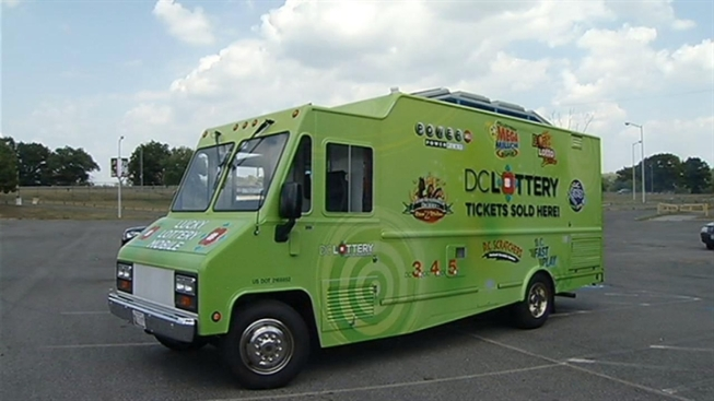 D.C. Lottery Truck Ready for Street Sales
