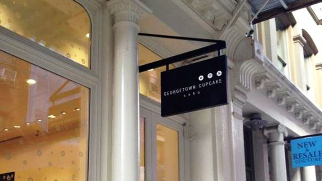 Georgetown Cupcake Expands to Soho