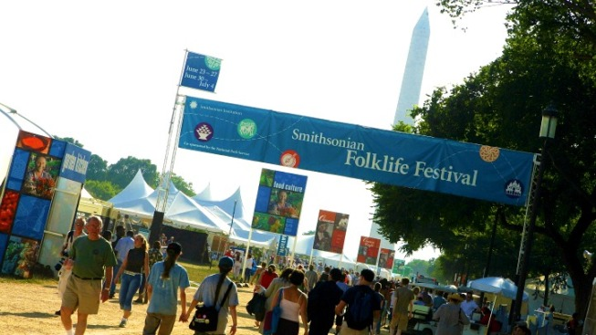 Life, Culture and Tinikling Dancers at the Folklife Festival