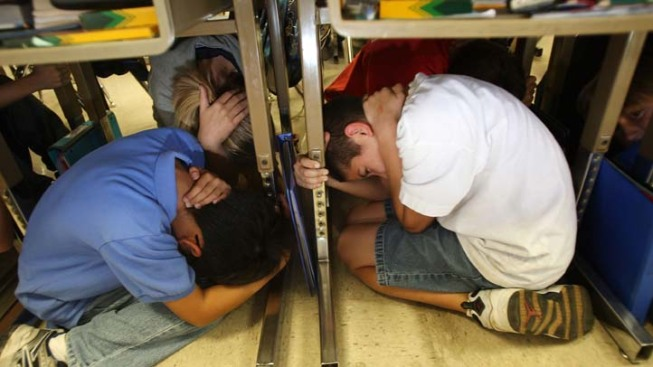 D.C. Area to Participate in 'Shakeout' Earthquake Drill