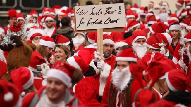 Santarchy Reigns This Weekend