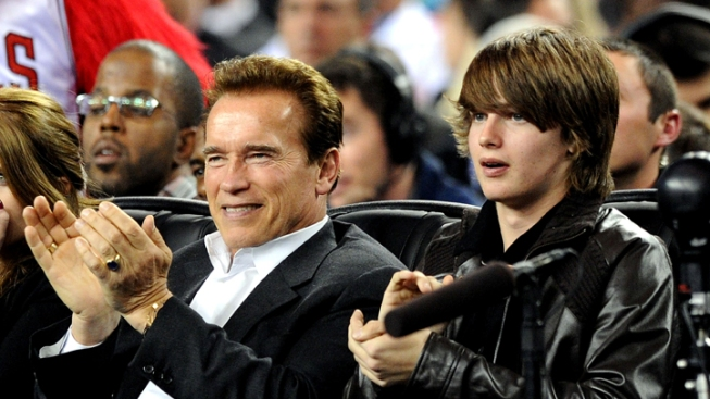 Schwarzenegger's Son Injured in Skiing Accident