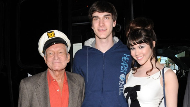 Hugh Hefner's Son Pleads No Contest in Domestic Violence Charge
