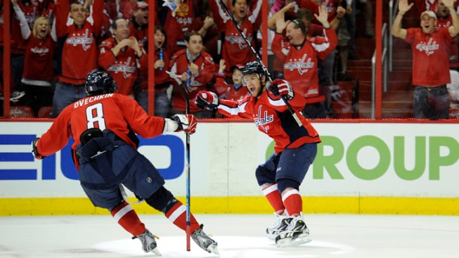 Capitals Take on Rangers in Game 5