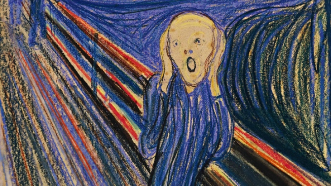 Munch's 'The Scream' Adorns Christmas Tree in D.C.