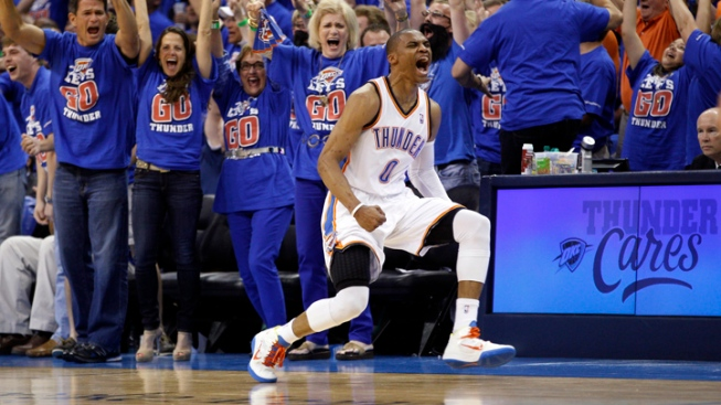 Thunder Surge Past Lakers
