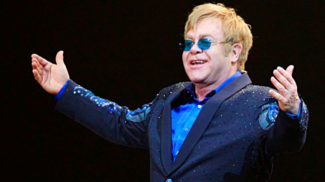 Elton John Shares Grammy Stage with Young Rockers